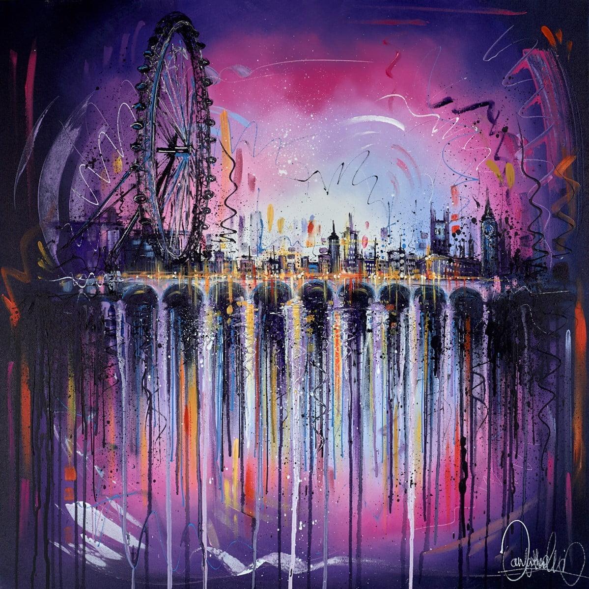 Skyline Reflections III ~ Samantha Ellis