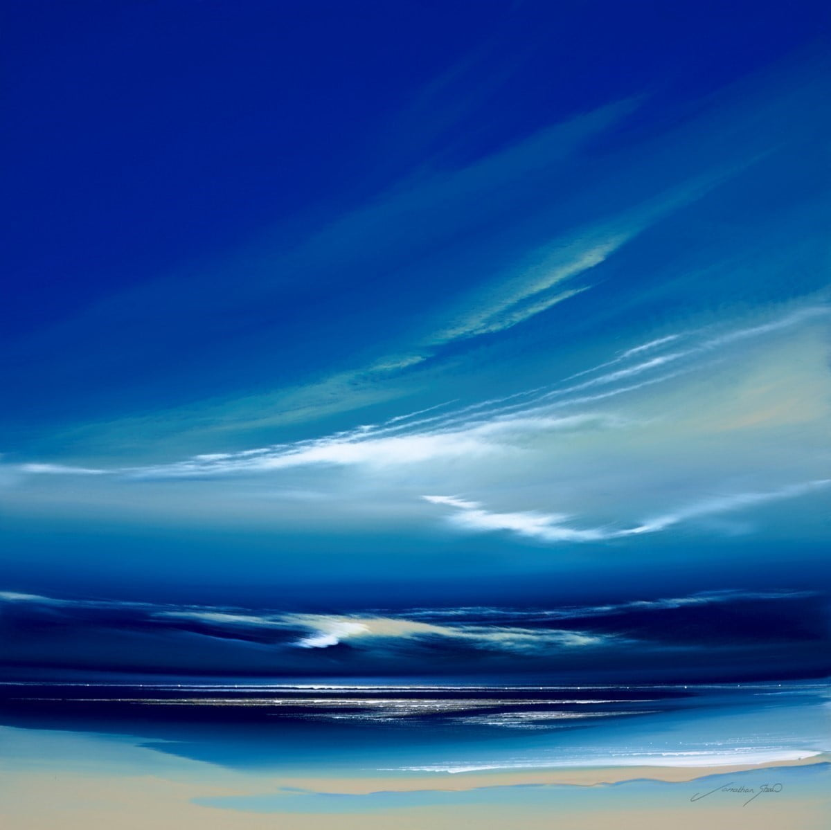 Cobalt Blue I ~ Jonathan Shaw