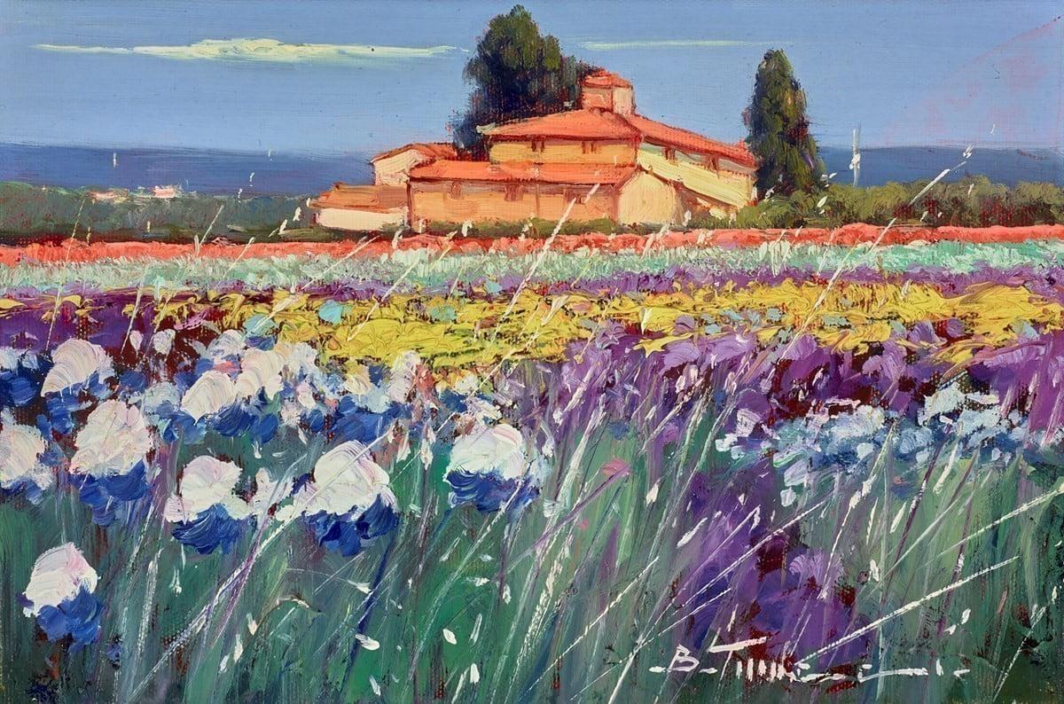 Fiori Blu I ~ Bruno Tinucci