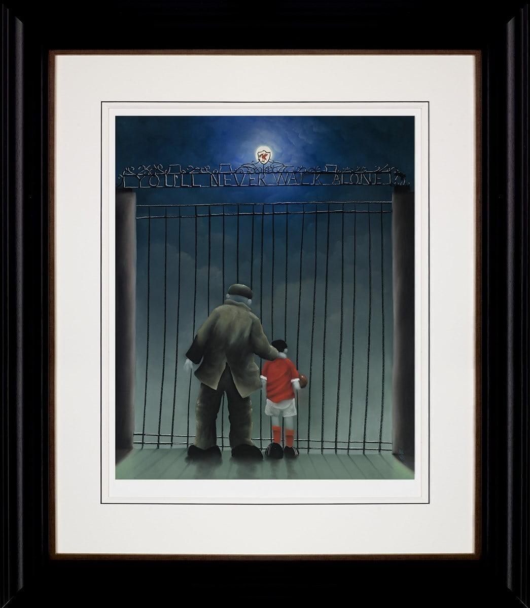 Shankly Gates ~ Mackenzie Thorpe