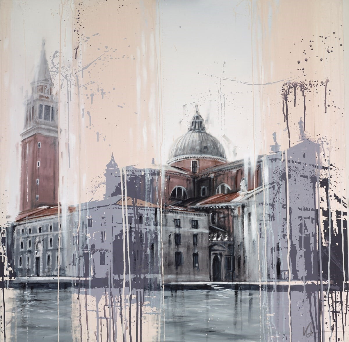 A View of St Marks Square, Venice ~ Kris Hardy