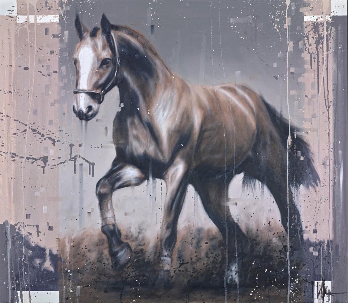 Brown Horse II ~ Kris Hardy