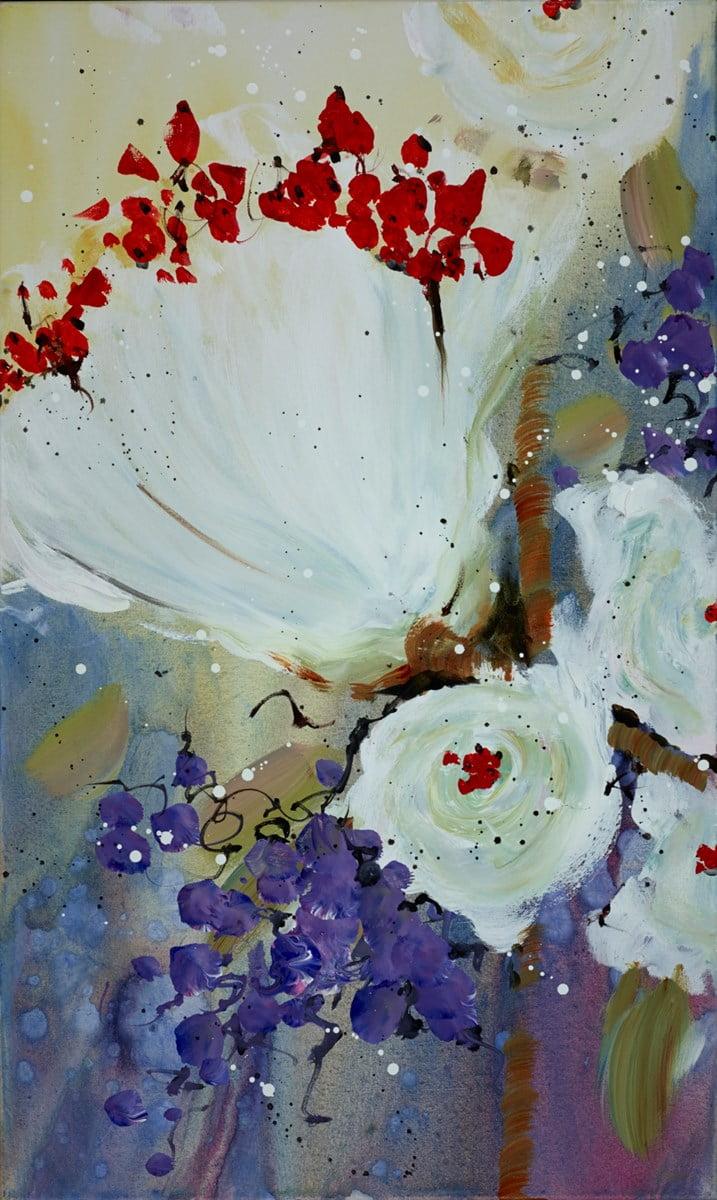 Holding Hands Across the Sky (Triptych A) ~ Danielle O'Connor Akiyama