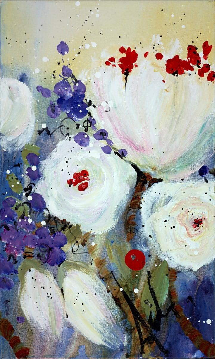 Holding Hands Across the Sky (Triptych C) ~ Danielle O'Connor Akiyama
