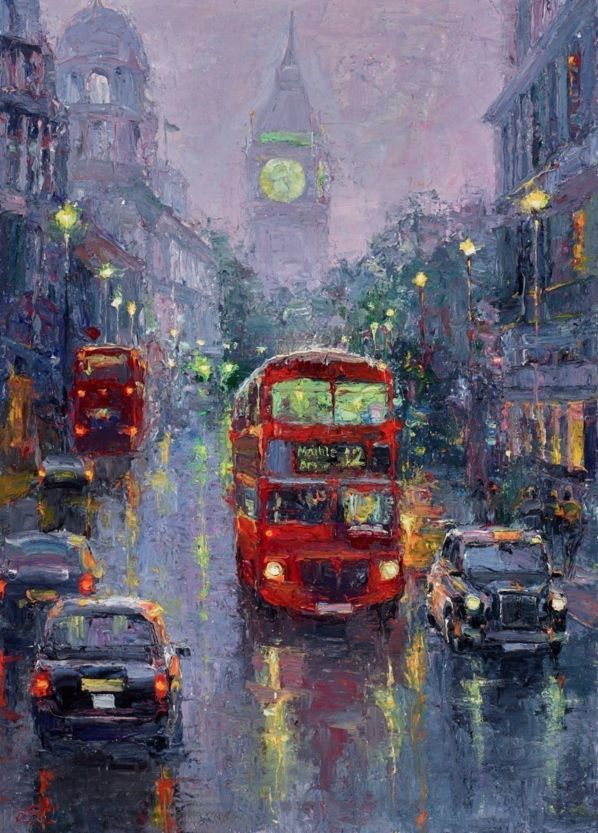 Night Lights Whitehall II ~ Lana Okiro