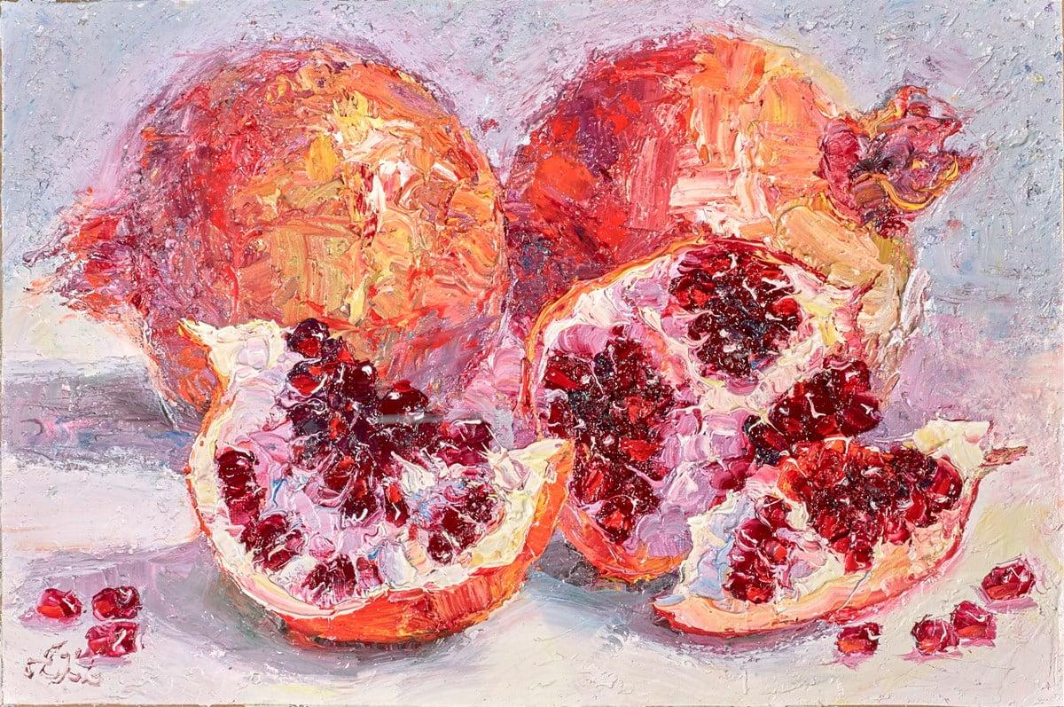 Pomegranate Slices VI ~ Lana Okiro