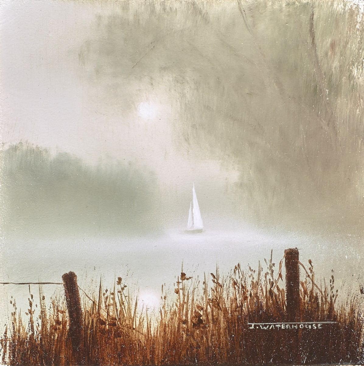 Sailing in Calm Waters ~ John Waterhouse