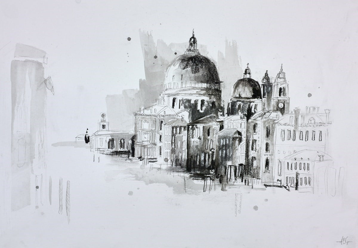 Venice Sketch VI ~ Anna Gammans