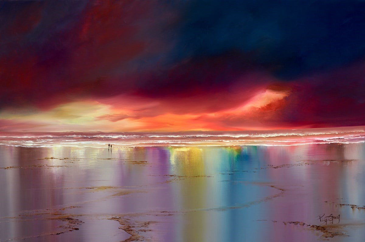 Sunset Reflections II ~ Philip Gray
