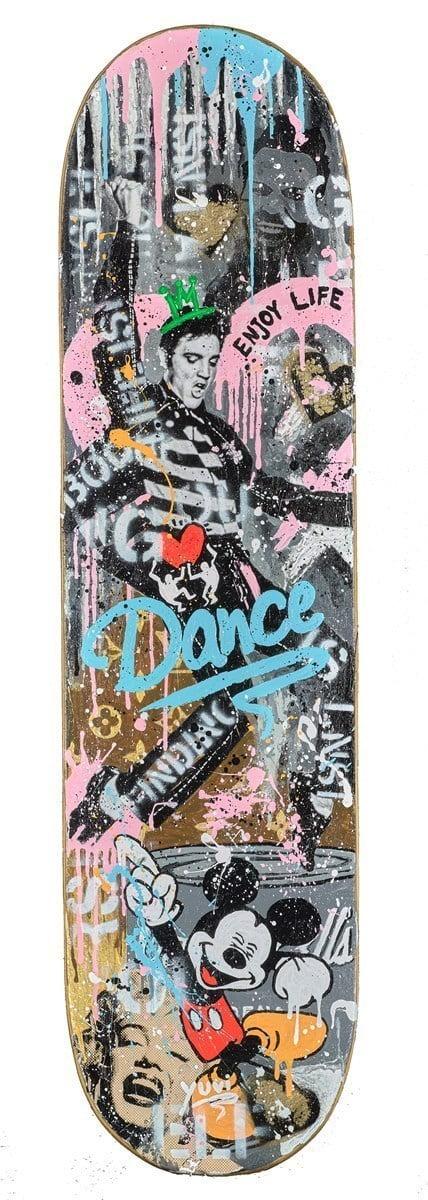 Dance Skateboard ~ Yuvi