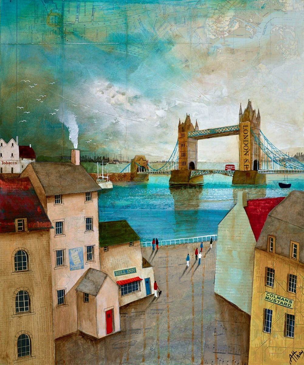 By Tower Bridge ~ Keith Athay