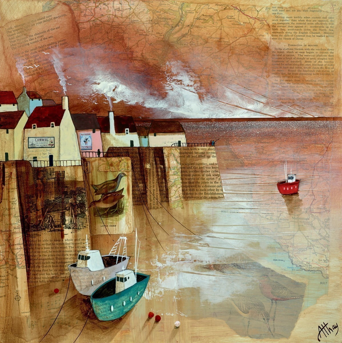 Harbour Fishing ~ Keith Athay