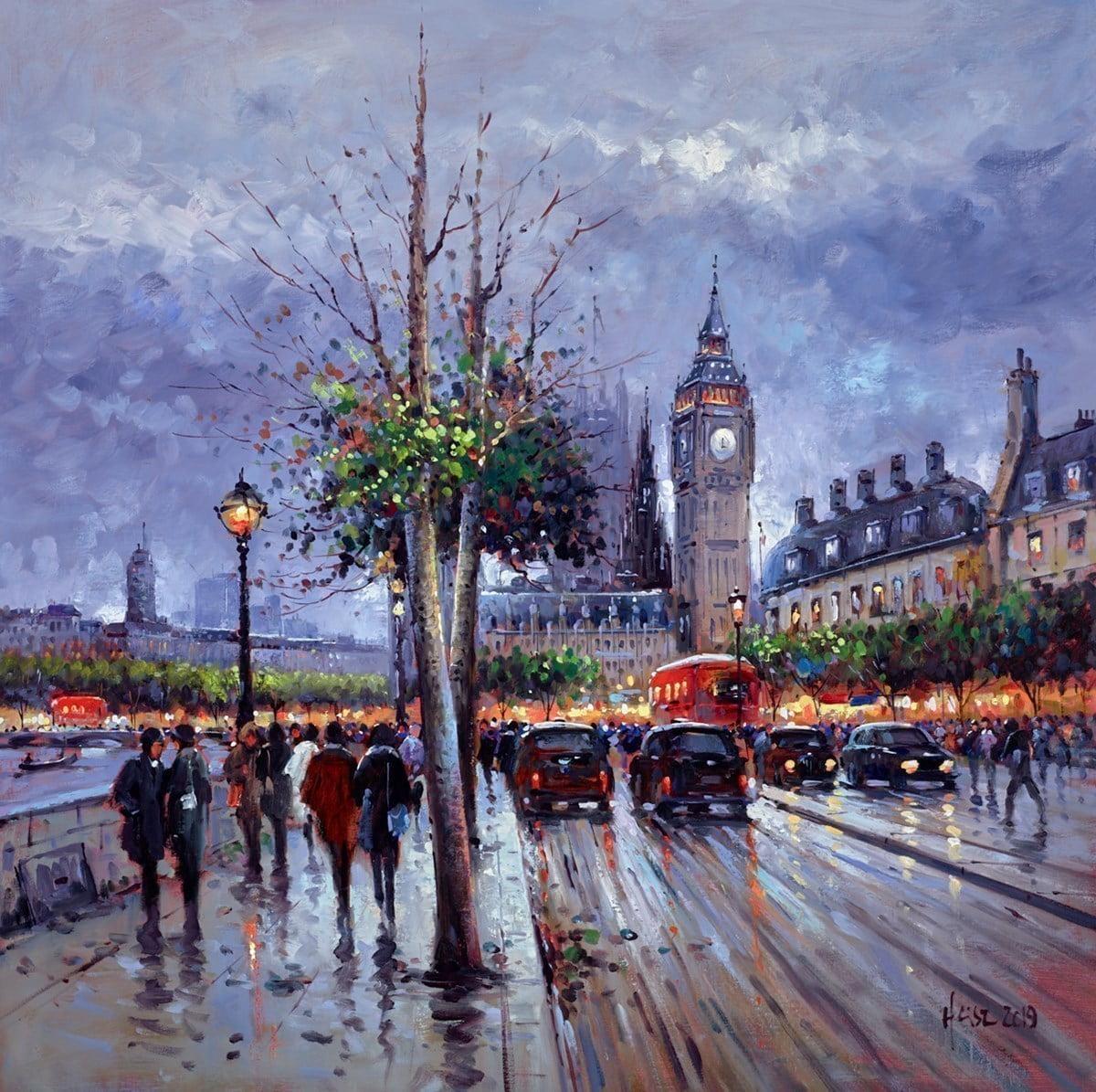 Evening, Westminster ~ Henderson Cisz