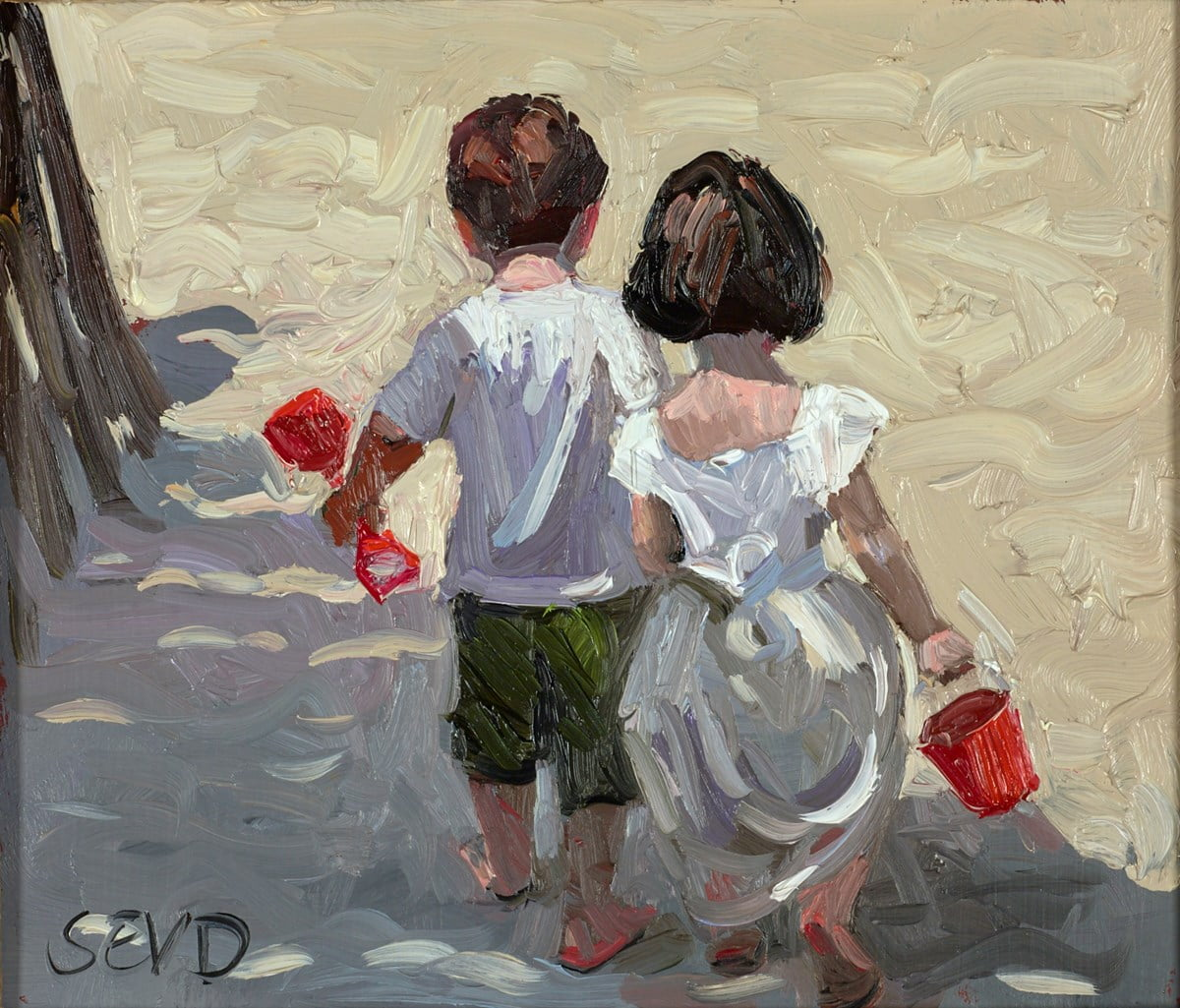 A Day on the Sand ~ Sherree Valentine Daines