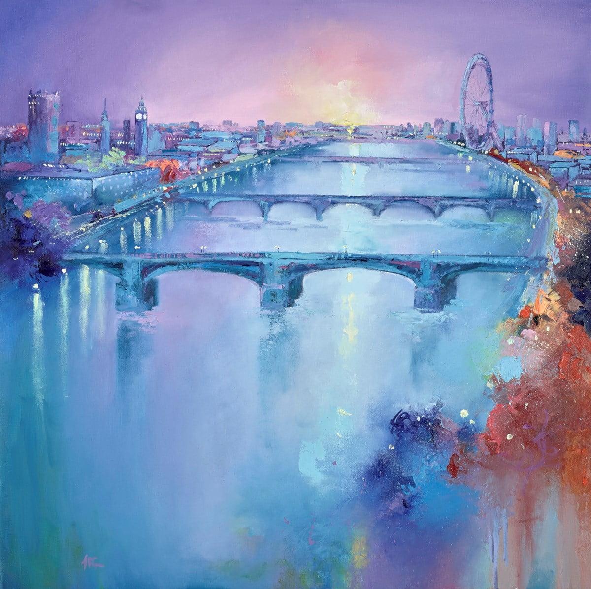Thames Vista III ~ Anna Gammans