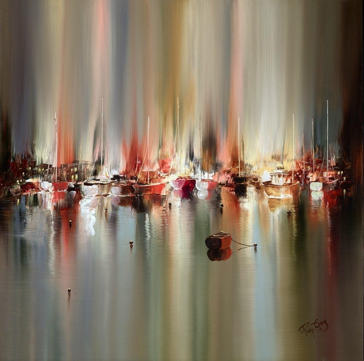 Quiet Harbour I ~ Philip Gray