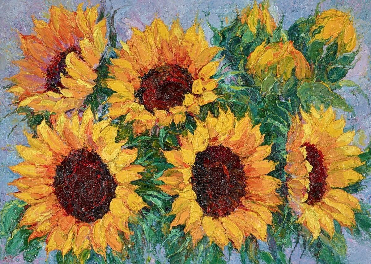 Sunflowers IV ~ Lana Okiro