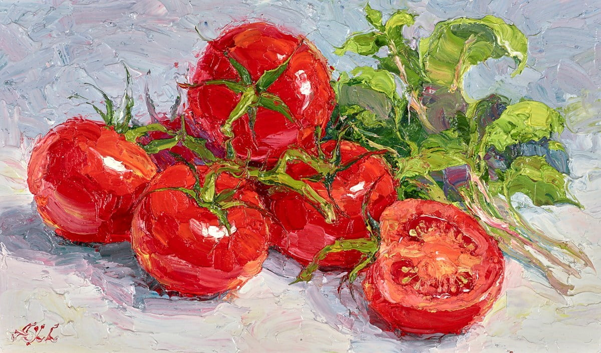 Tomato and Basil I ~ Lana Okiro