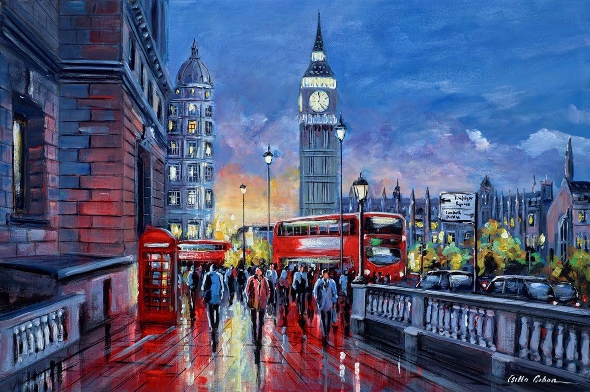 Sunset, Westminster, London ~ Csilla Orban