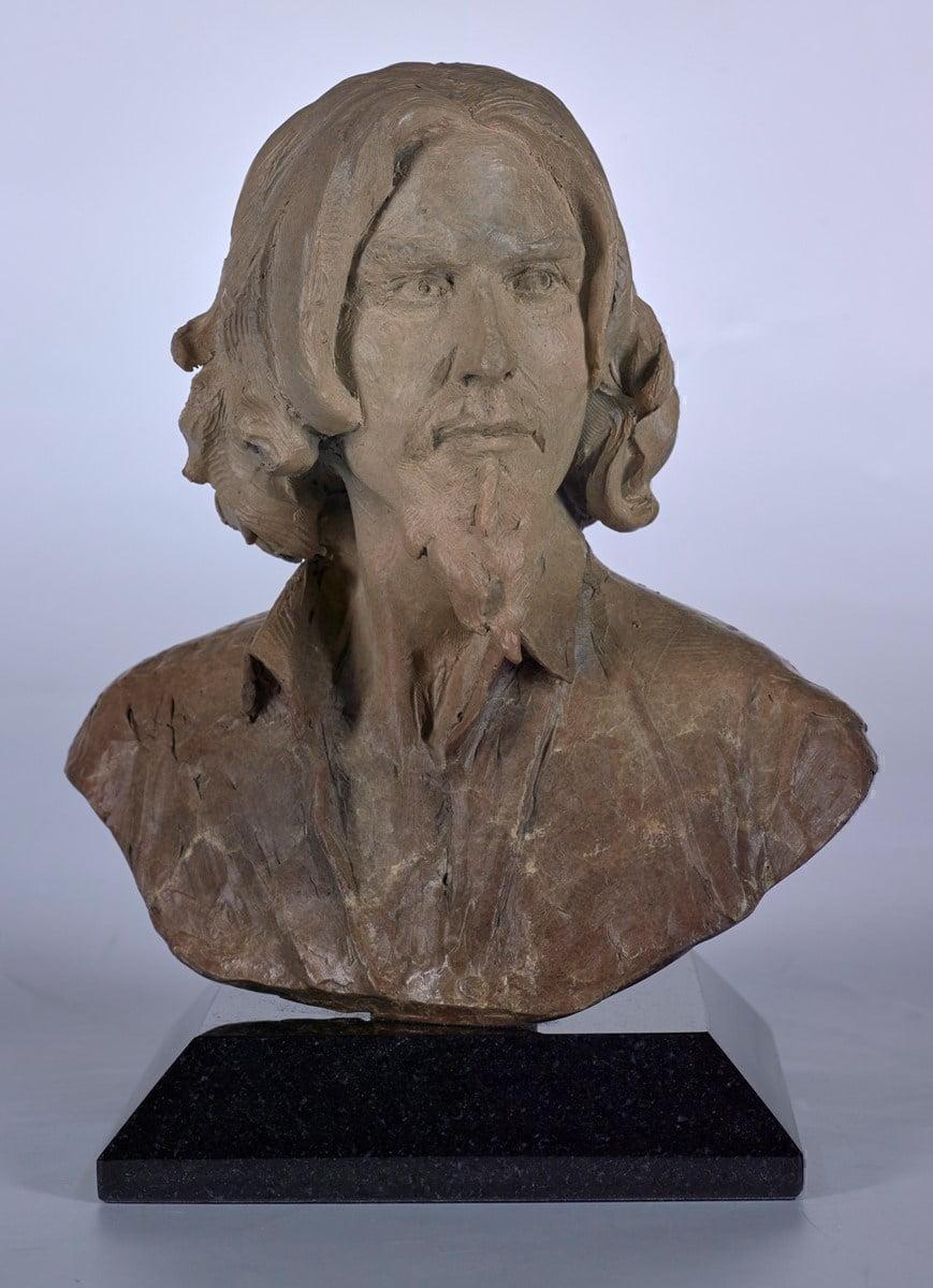 Self Portrait Bust ~ Fabian Perez