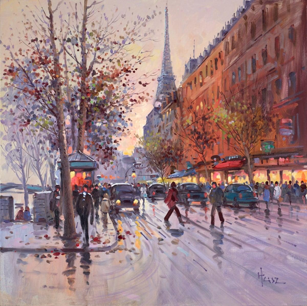 Autumn Trees, Paris ~ Henderson Cisz
