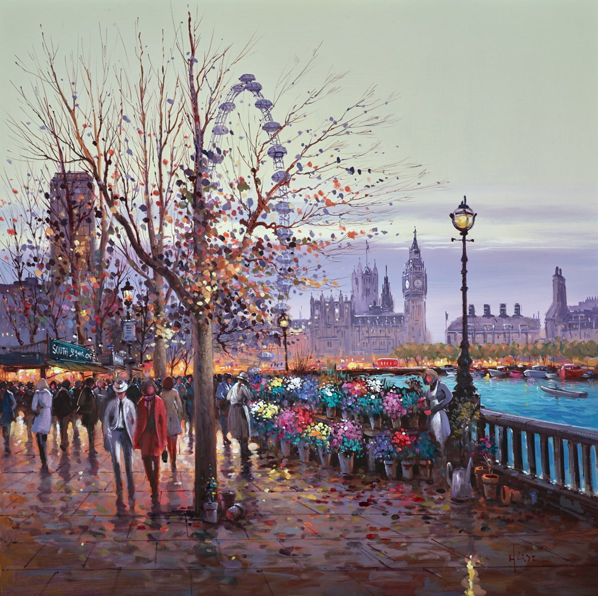 By the London Eye ~ Henderson Cisz