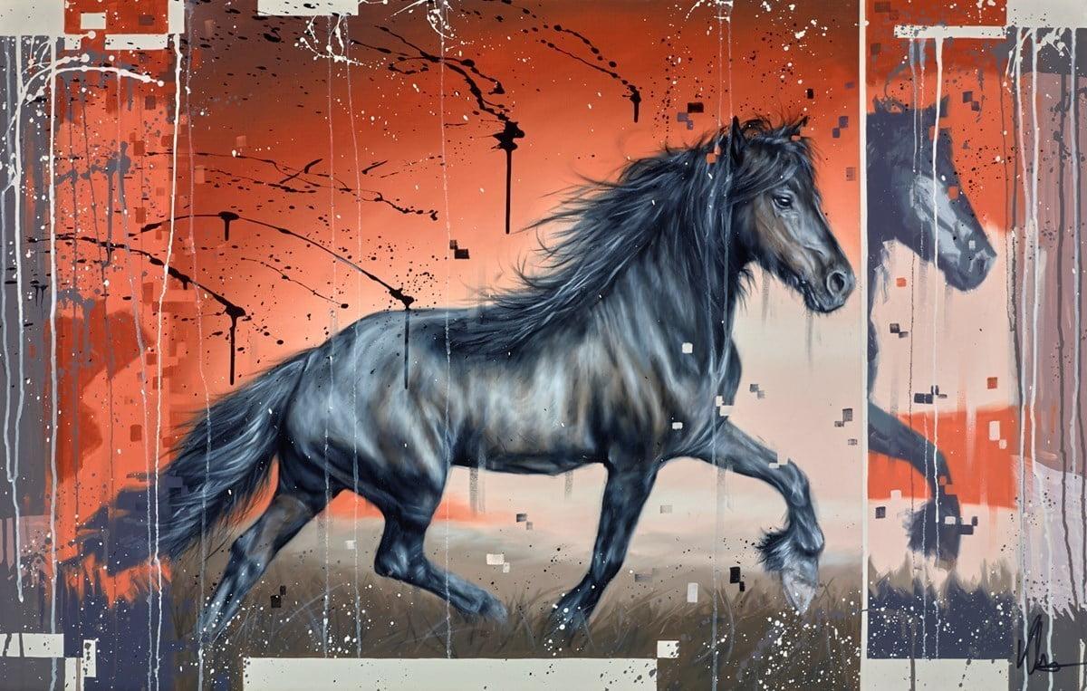 Black Horse III ~ Kris Hardy