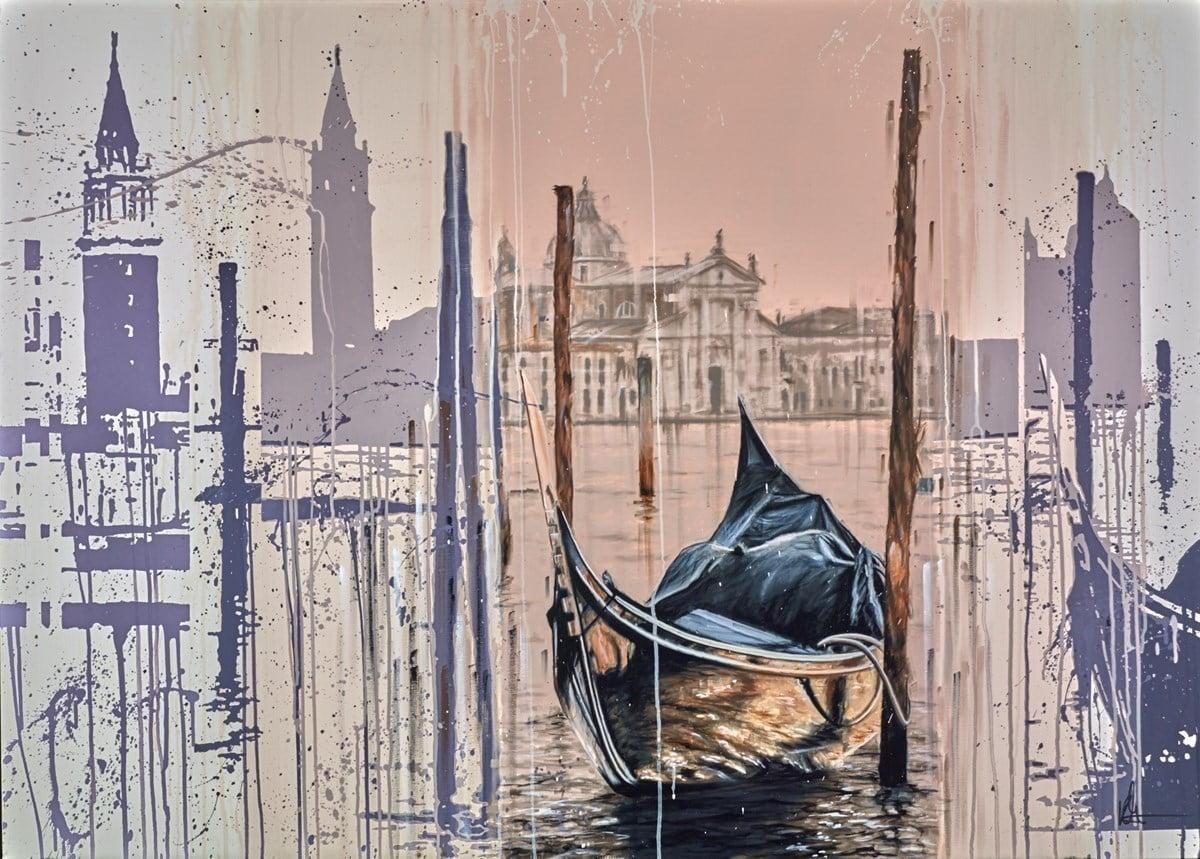 Venetian Sunset ~ Kris Hardy