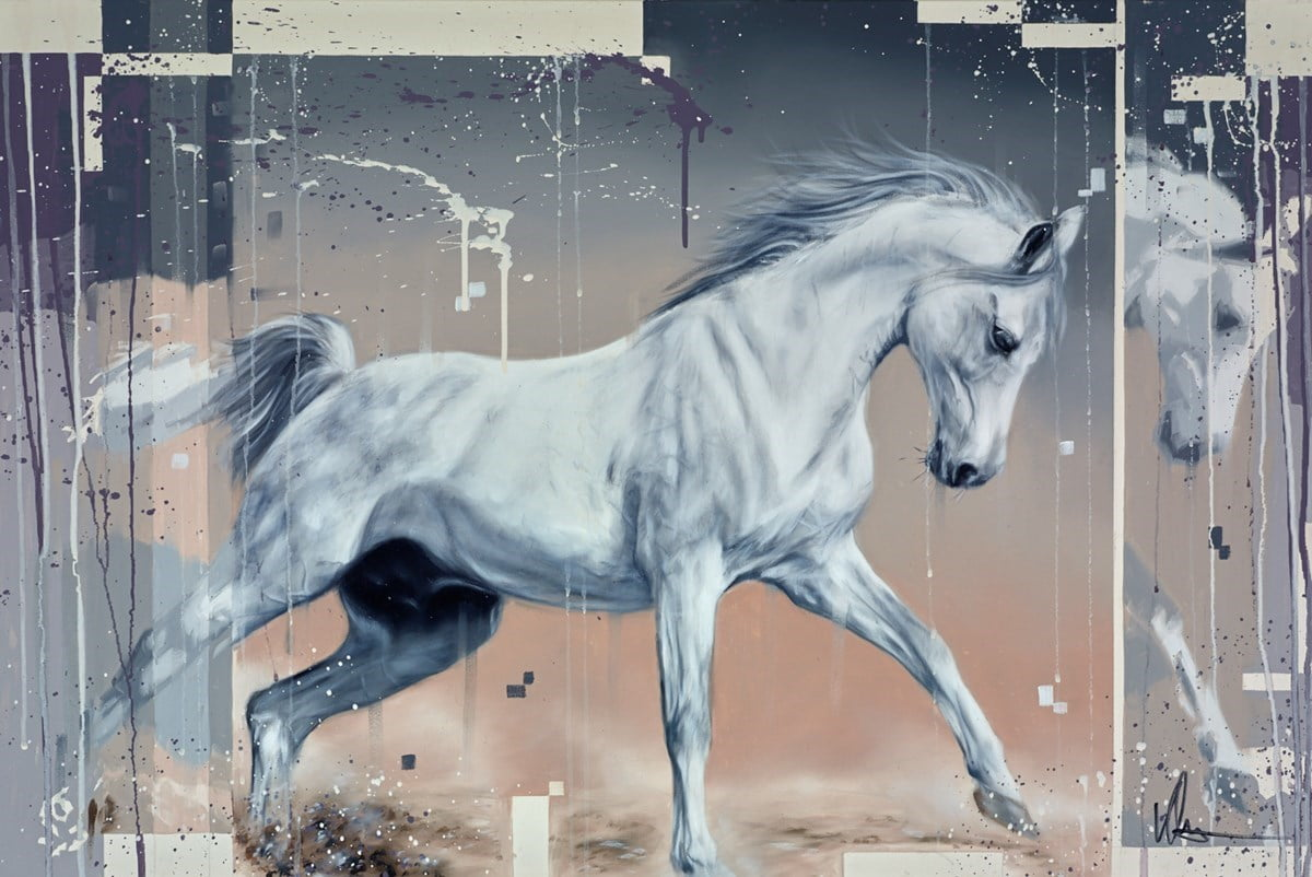 White Horse ~ Kris Hardy