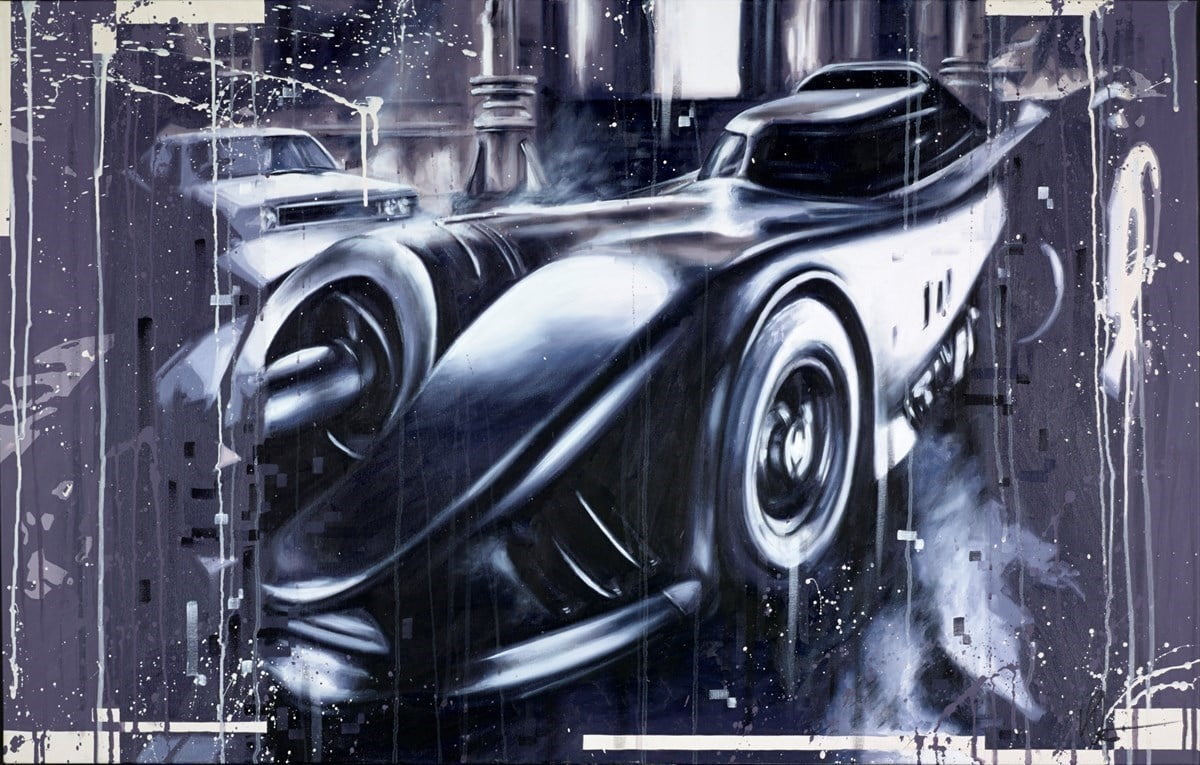 The Batmobile 1989 ~ Kris Hardy