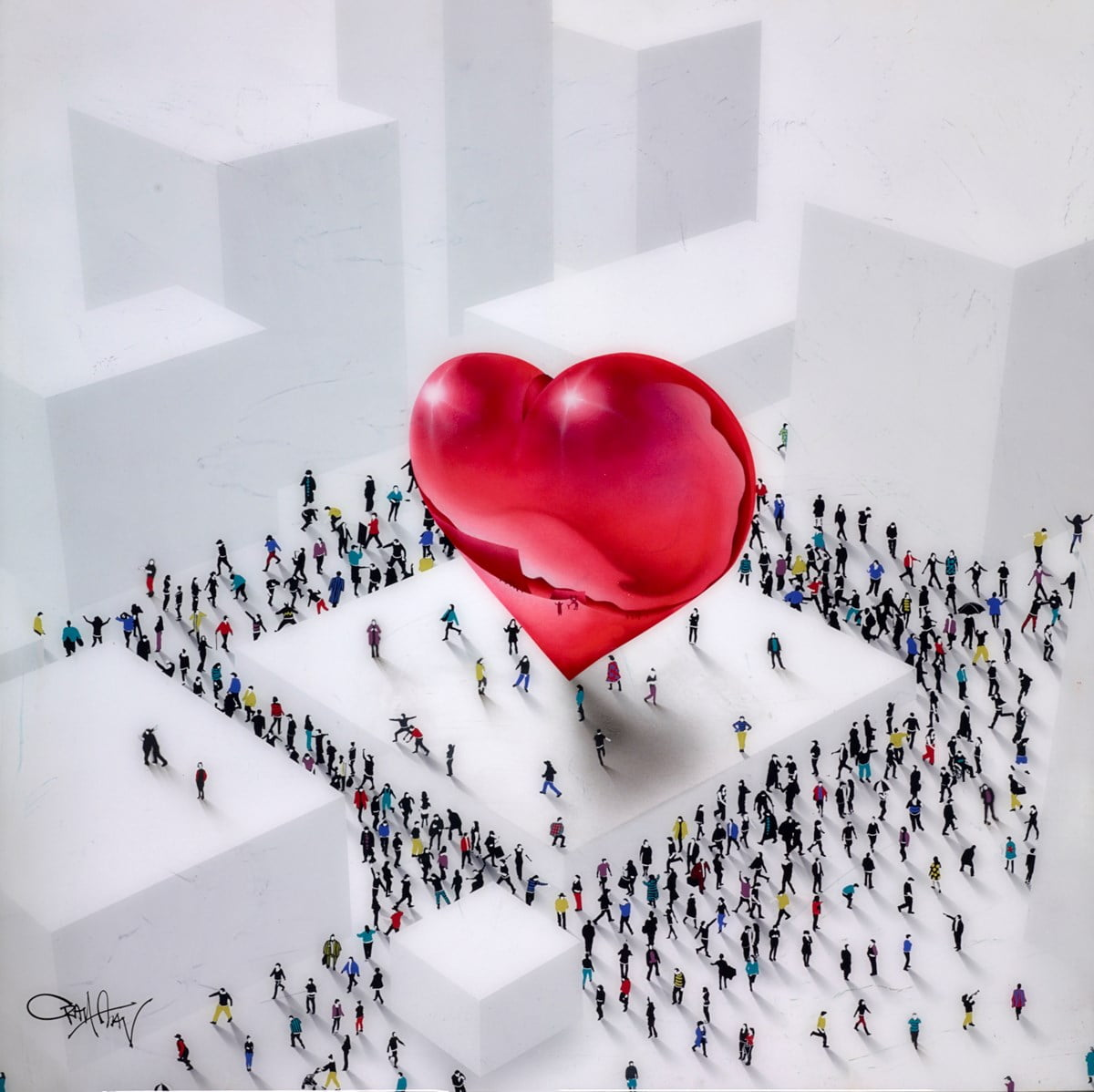 Heart of the City III ~ Craig Alan