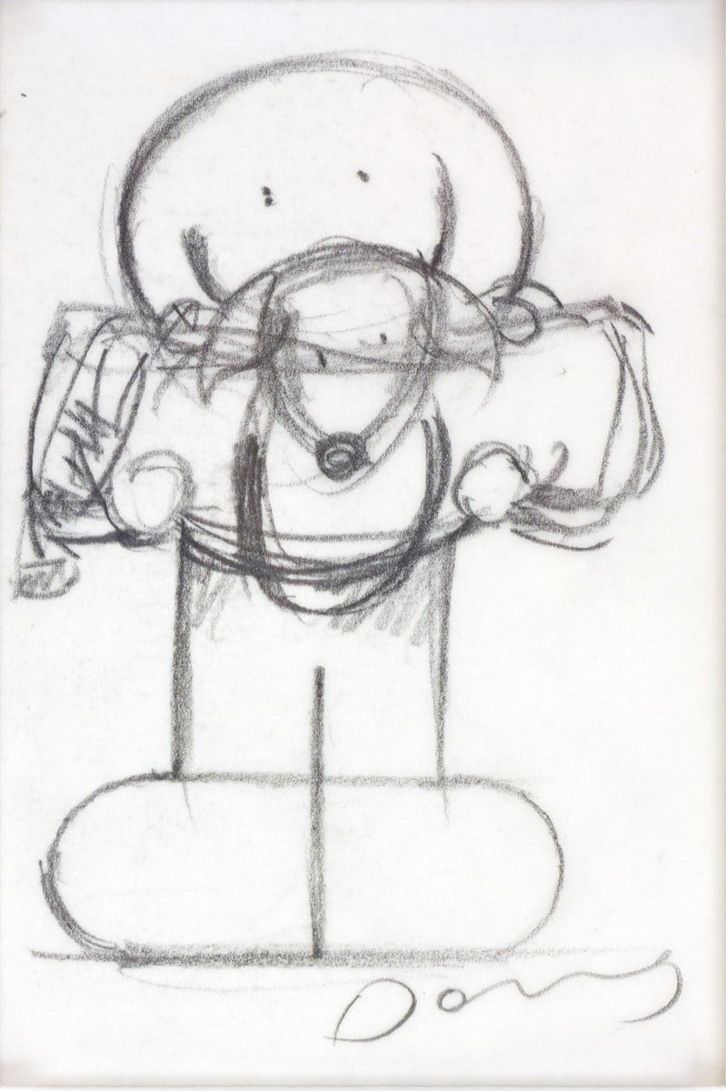 Adventurers II Sketch ~ Doug Hyde