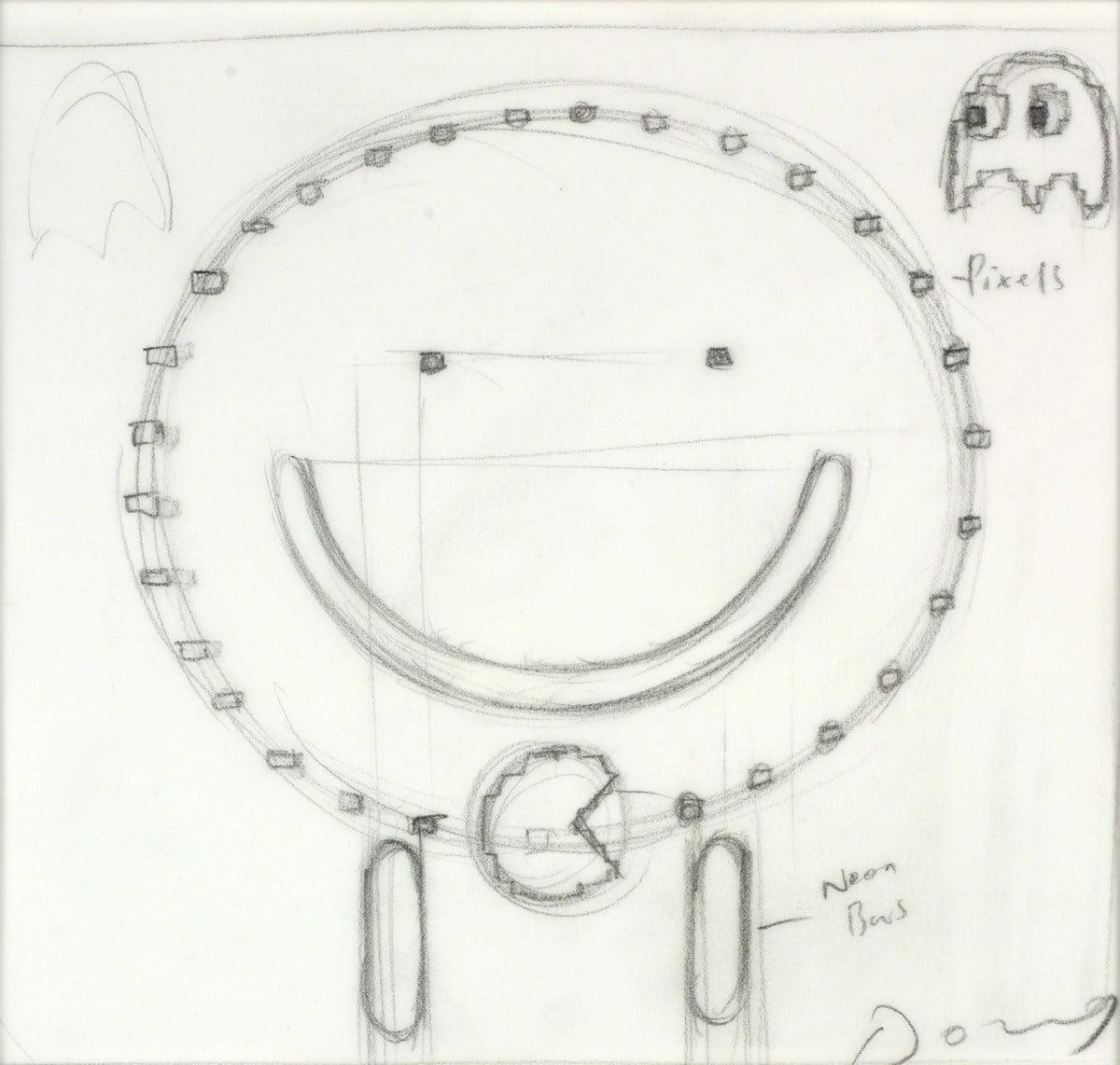 Pac-Man (Study VI) ~ Doug Hyde