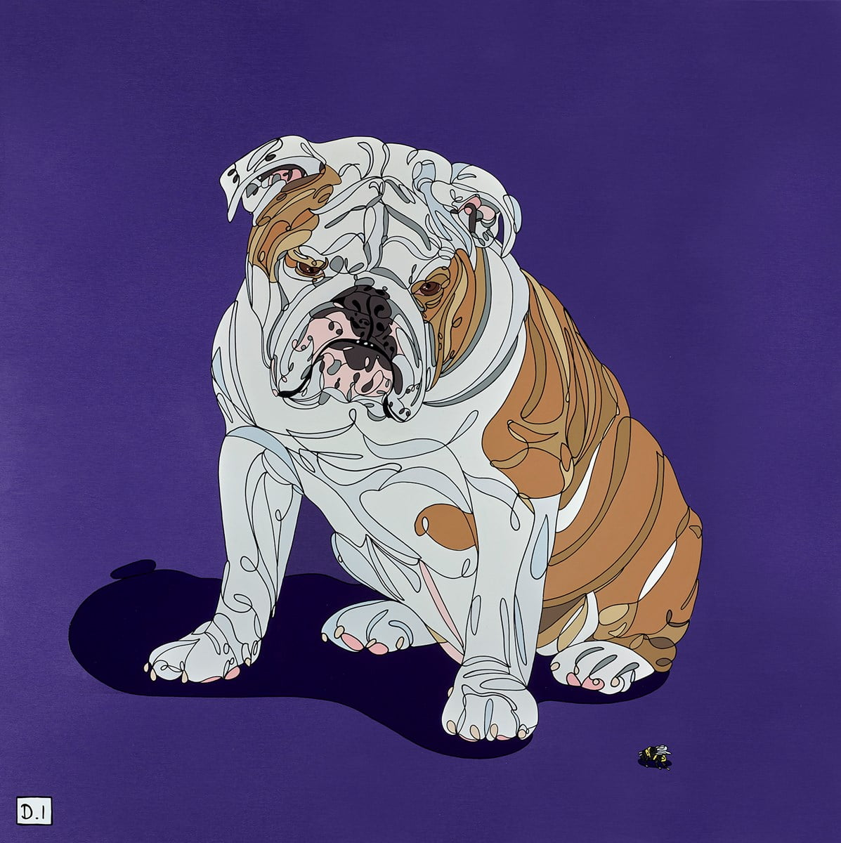 Bulldog and Bumblebee ~ Dylan Izaak