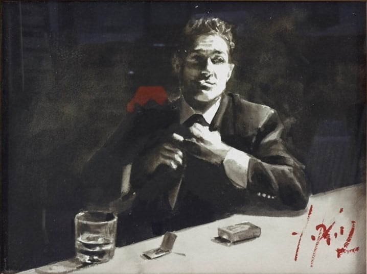 Proud to Be A Man III (Ink) ~ Fabian Perez