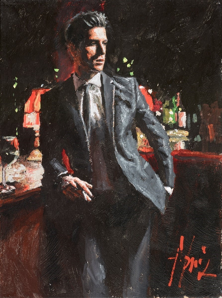 Study for The Italian II ~ Fabian Perez