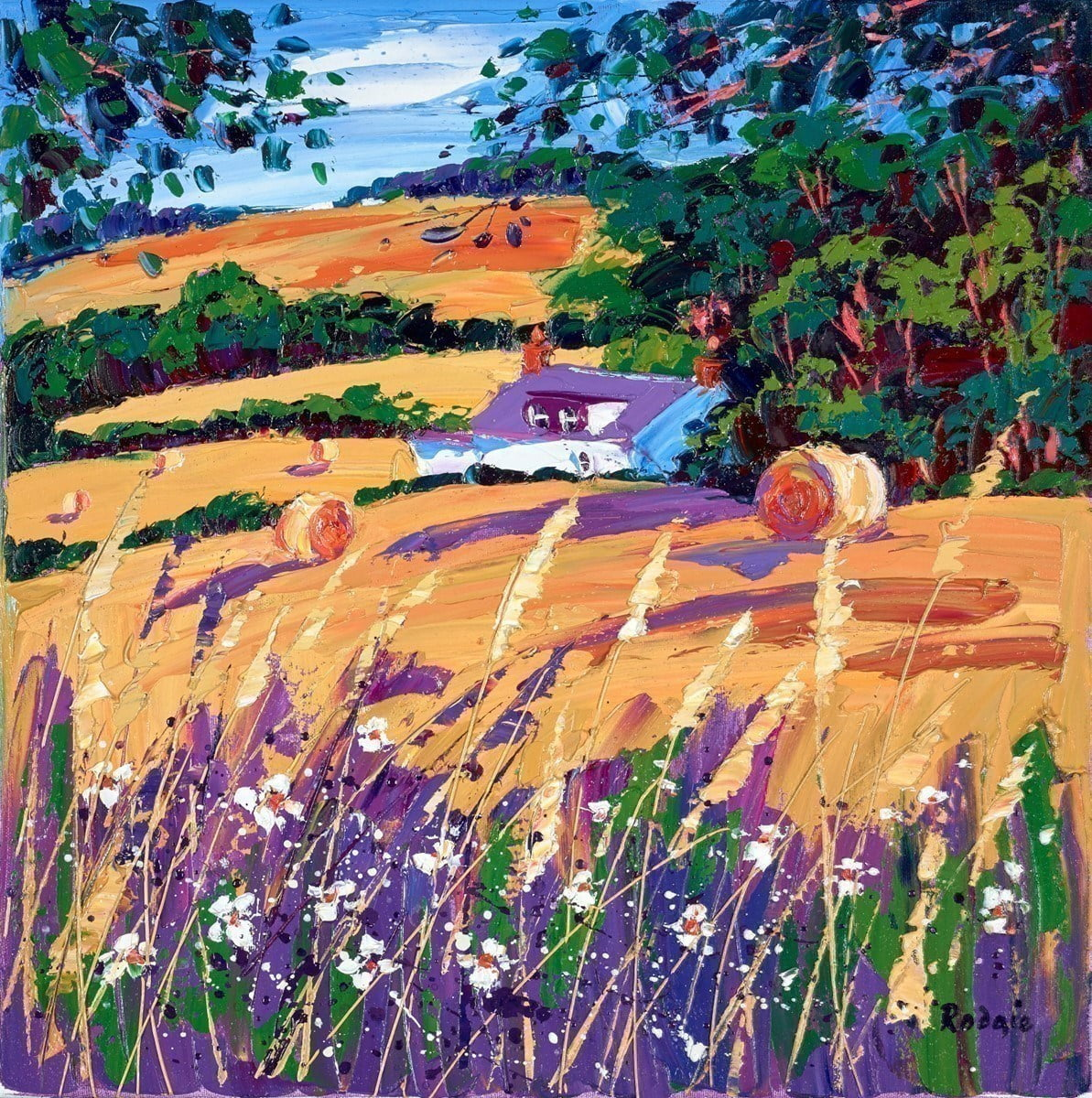 Cut Fields and Grasses ~ Lynn Rodgie