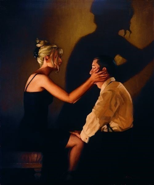 At Last, My Lovely ~ Jack Vettriano