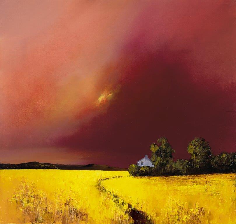 Smouldering Skies ~ Barry Hilton