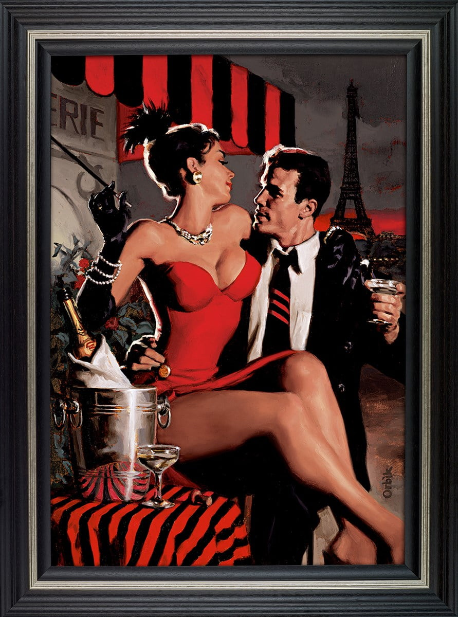 Midnight in Paris ~ Glen Orbik