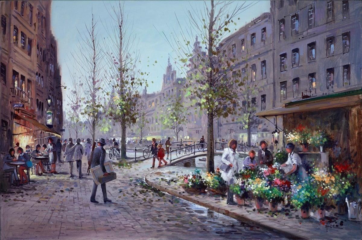 Amsterdam Artist ~ Henderson Cisz