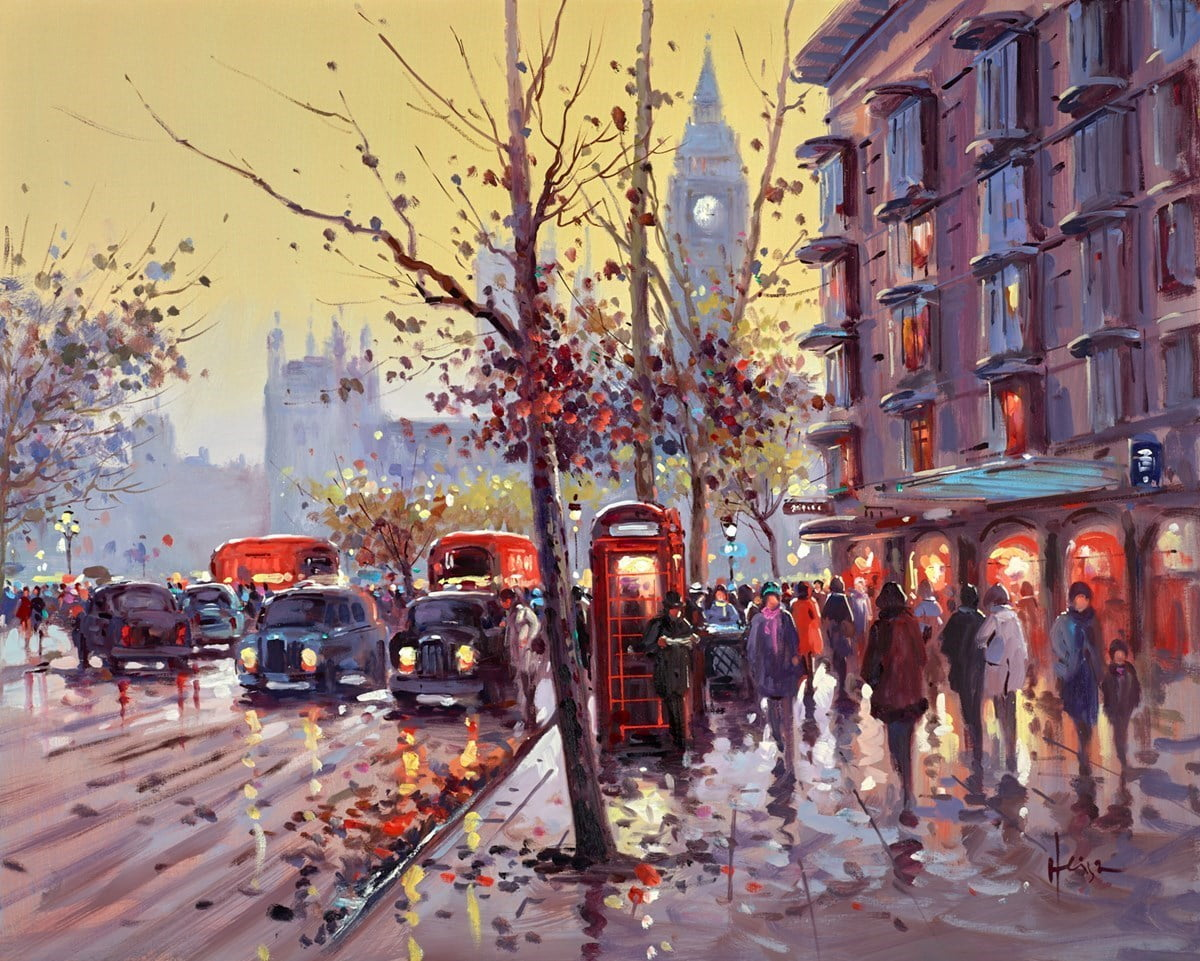 Busy Day, Westminster ~ Henderson Cisz