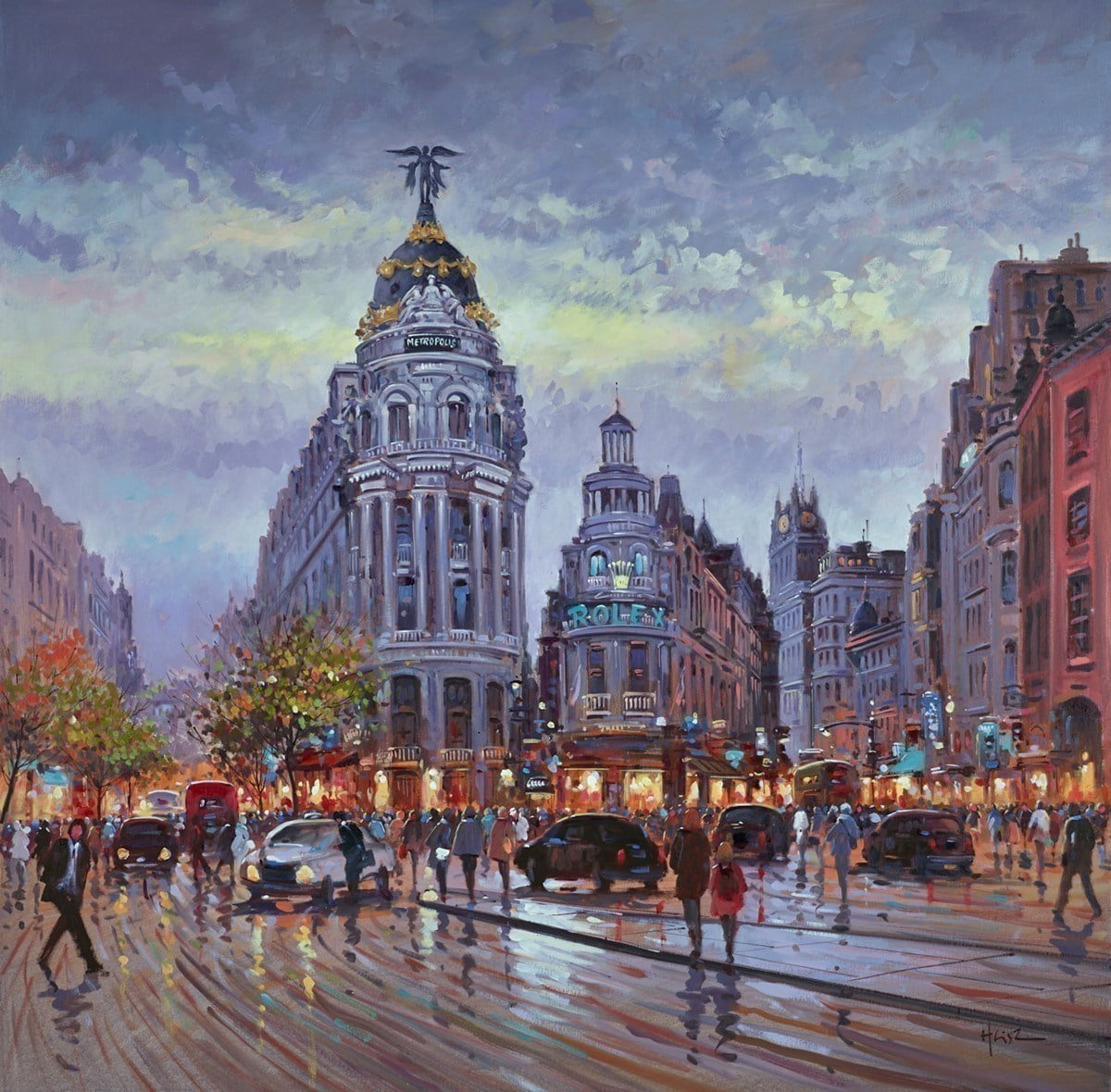 Gran-Via, Madrid ~ Henderson Cisz