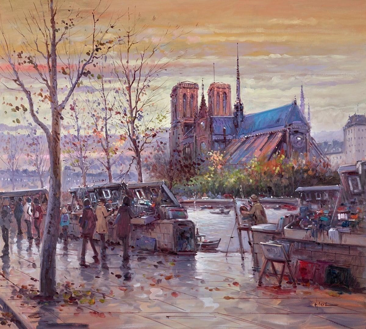 Painting Notre Dame ~ Henderson Cisz