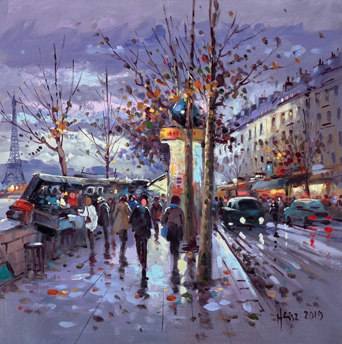 Paris Autumn Evening ~ Henderson Cisz