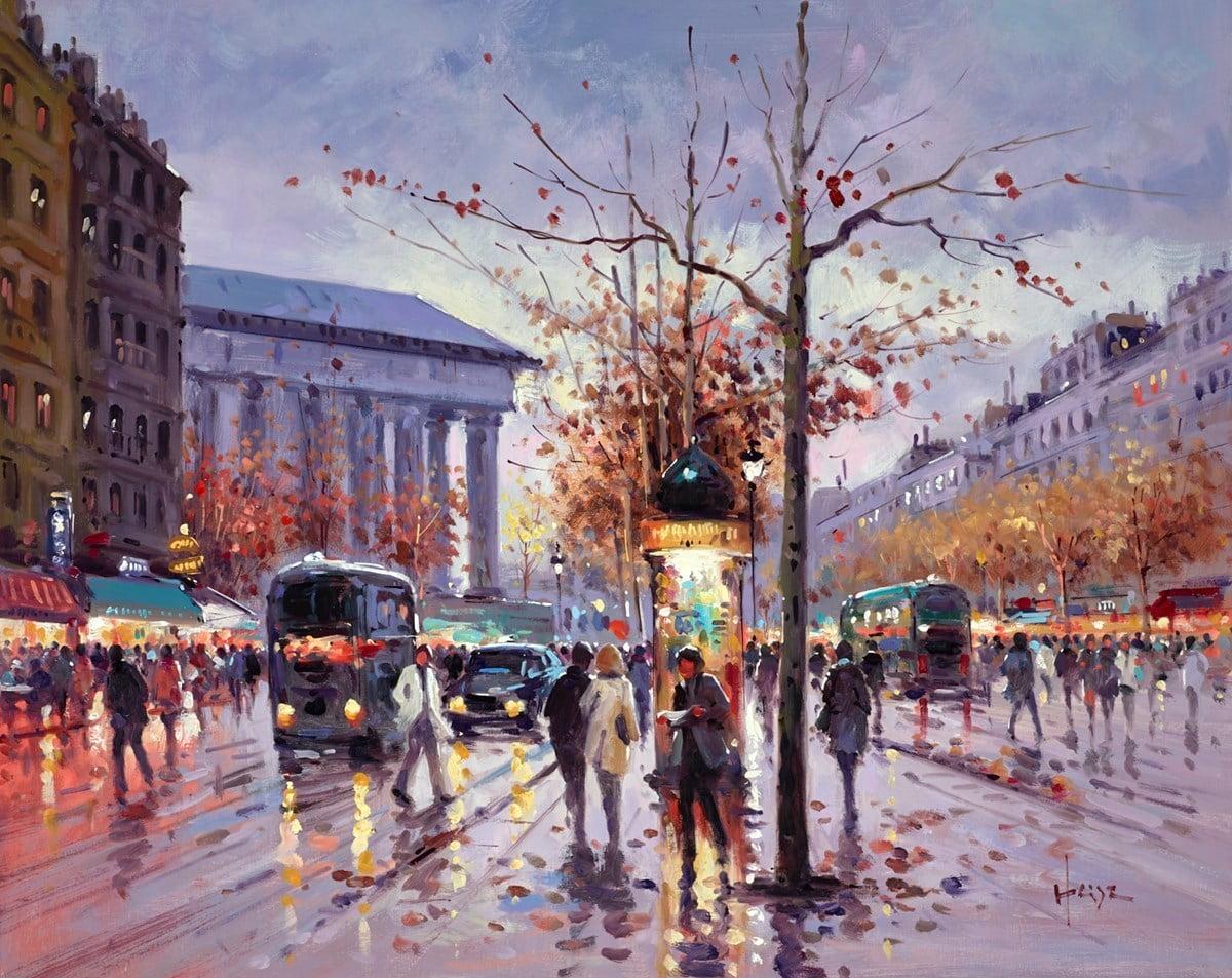 Paris Traffic ~ Henderson Cisz