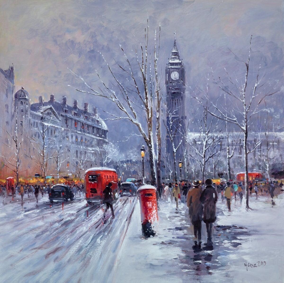 Snowfall, London ~ Henderson Cisz