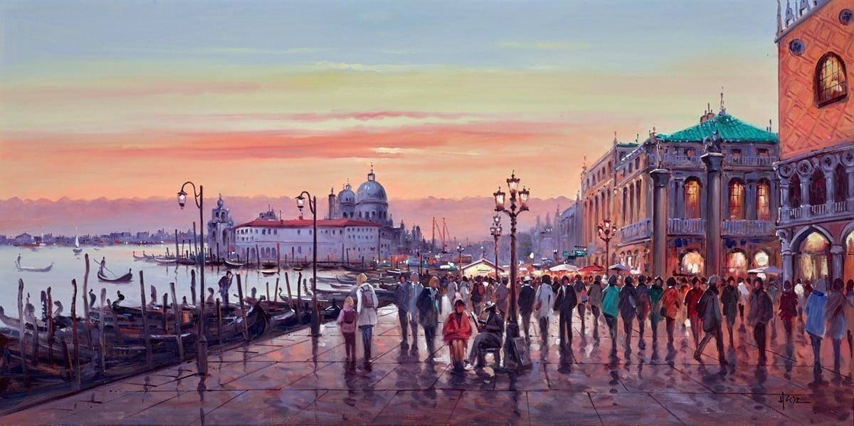 Sunset Skies, Venice ~ Henderson Cisz