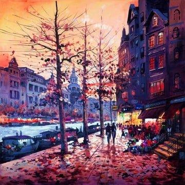 Amsterdam glow ~ Henderson Cisz
