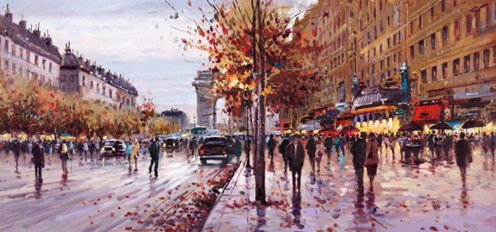 On the Champs Elysees ~ Henderson Cisz